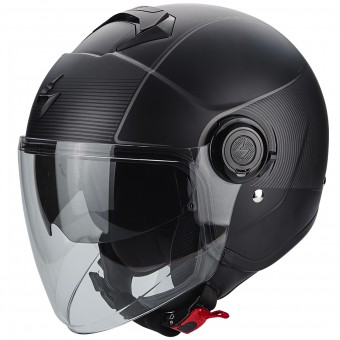 Casque Jet Scorpion Exo City Wind Black Silver