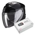 Pack Exo S1 Black + Kit Bluetooth Sena SMH5 Solo