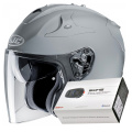 Pack FG-JET N. Grey + Kit Bluetooth Sena SMH5