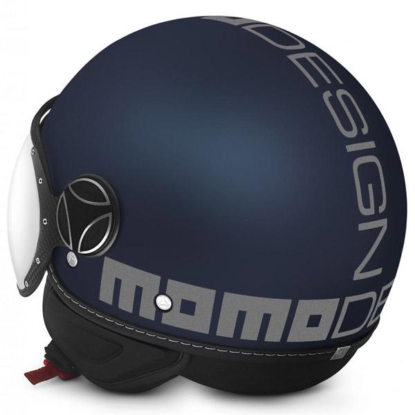 Momo Design FGTR Evo 3 Bleu Mat Gris