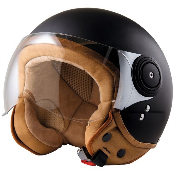 Casque Jet Stormer Flow Matt Black