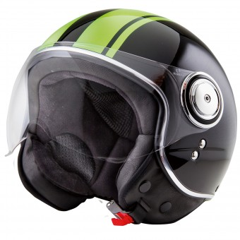 Casque Jet Stormer Flow Soul Lime