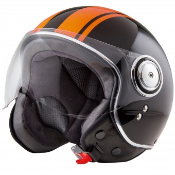 Casque Jet Stormer Flow Soul Orange