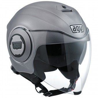 Casque Jet AGV Fluid Matt Grey