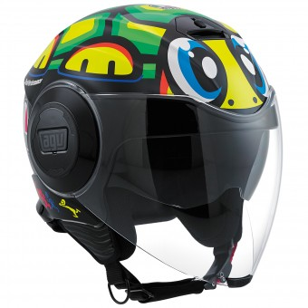 Casque Jet AGV Fluid Top Tartaruga