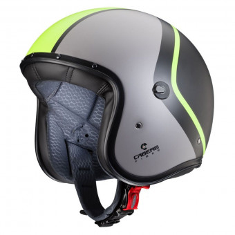 Casque Jet Caberg Freeride Eclipse Black Anthracite Yellow Fluo