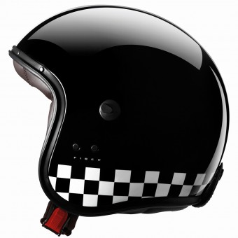 Casque Jet Caberg Freeride Indy Black White