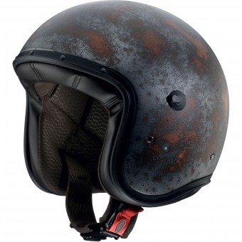 Casque Jet Caberg Freeride Iron Black Rusty