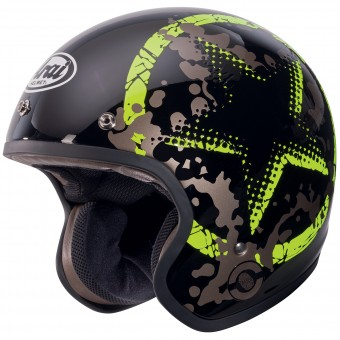Casque Jet Arai Freeway Classic Comet Green