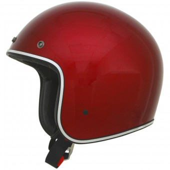 Casque Jet AFX FX-76 Vintage Candy Appel Red