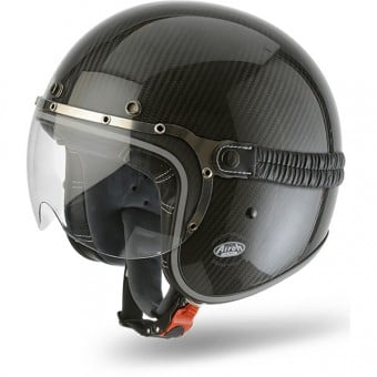 Casque Jet Airoh Garage Carbon