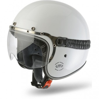 Casque Jet Airoh Garage White