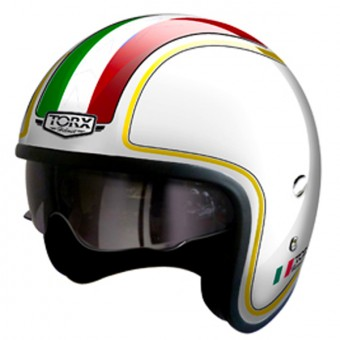 Casque Jet Torx Harry Flag Italie
