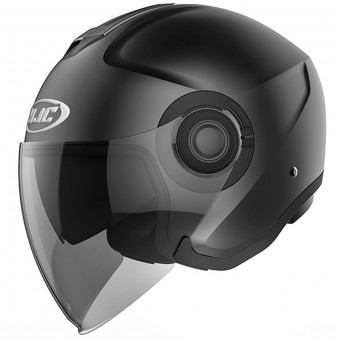 Casque Jet HJC I40 Semi Flat Black