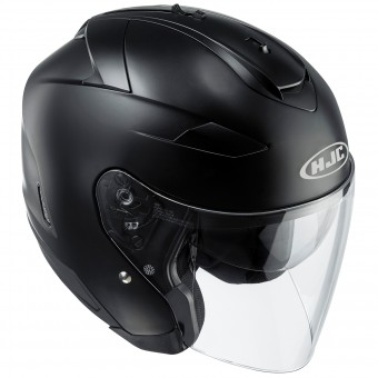 Casque Jet HJC IS-33 II Semi Flat Black