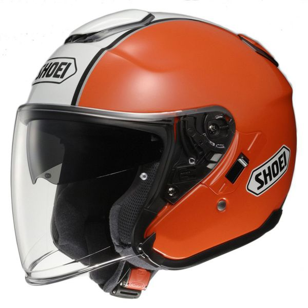 Casque Jet Shoei J-Cruise Corso Orange
