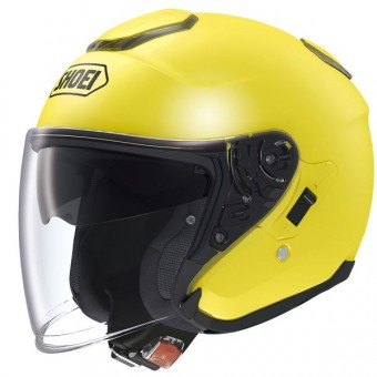 Casque Jet Shoei J-Cruise Jaune Fluo