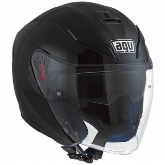 Casque Jet AGV K-5 Jet Matt Black