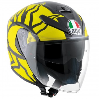 Casque Jet AGV K-5 Jet Top Winter Test 2011