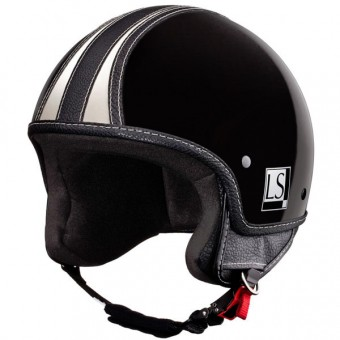 Casque Jet Laura Smith Custom R66 Noir Brillant