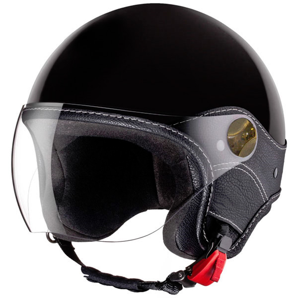 Casque Jet Laura Smith Trendy Vision Noir