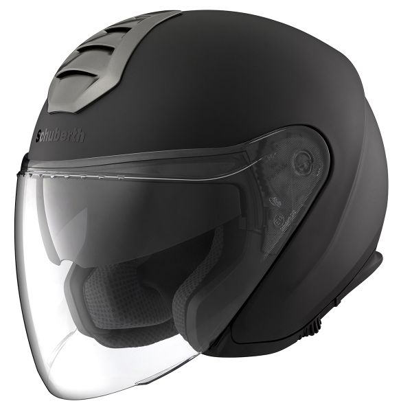Casque Jet Schuberth M1 London Matt Black