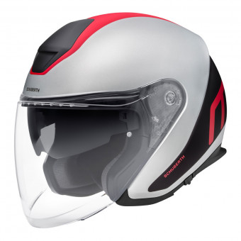 Casque Jet Schuberth M1 Pro Triple Rouge