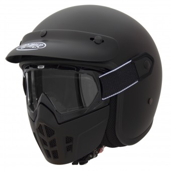 Casque Jet Premier Mask U9BM Matt Black