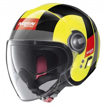 Casque Jet Nolan N21 Visor Spheroid Led Yellow 47