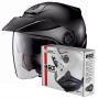 Casque Jet Nolan N40 5 Classic N-Com Flat Black 10 + Kit Bluetooth B601R