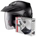 Pack N40 5 Classic N-Com Flat Black 10 + Kit Bluetooth B601R