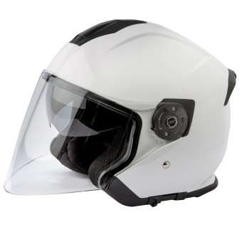 Casque Jet Stormer Neo White