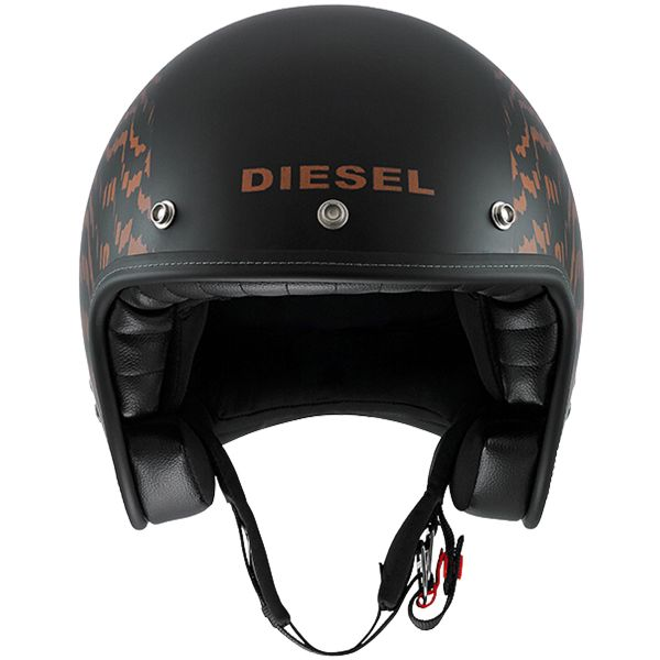 Diesel Old-Jack OJ 2 Matt Black Orange