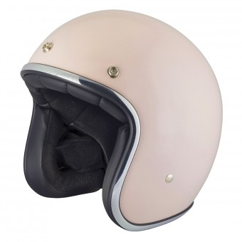 Casque Jet Stormer Pearl Rose Poudre