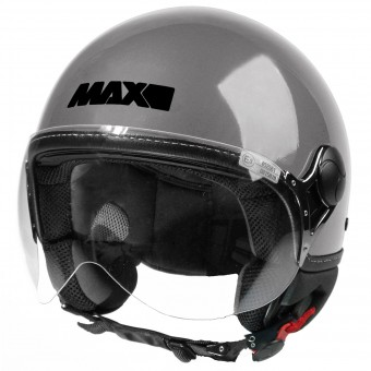 Casque Jet MAX Power Design Gris