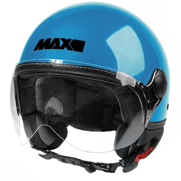 Casque Jet MAX Power Design Turquoise