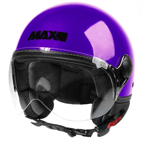 Casque Jet MAX Power Design Violet