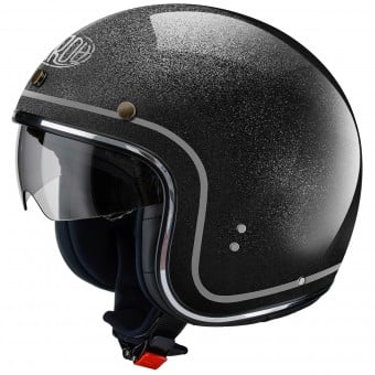 Casque Jet Airoh Riot Color Black Glitter