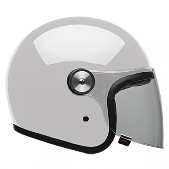 Casque Jet Bell Riot Solid White