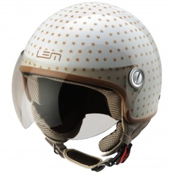 Casque Jet LEM Roger Dusty Beige