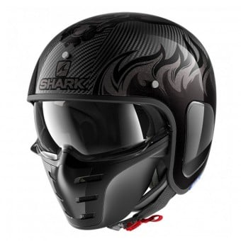 Casque Jet Shark S-Drak Carbon Dagon DAA