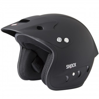 Casque Jet SHOT Shock Quad Matt Black