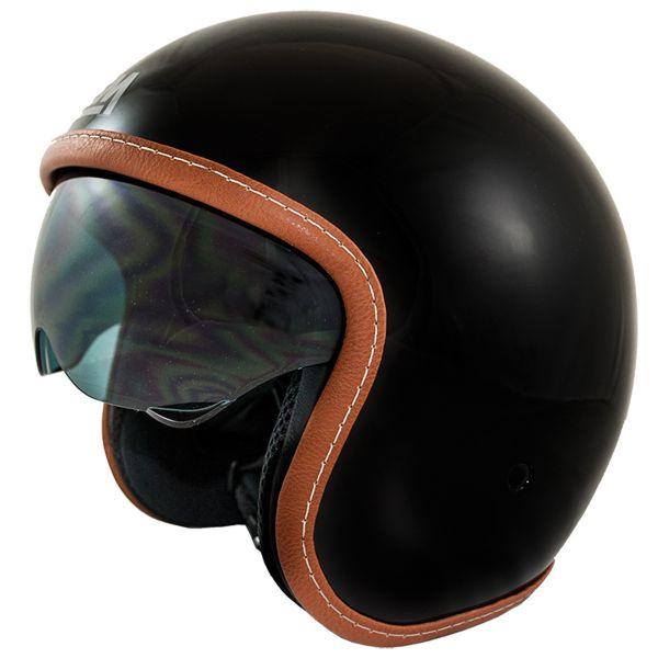 Casque Jet LEM Sport Black