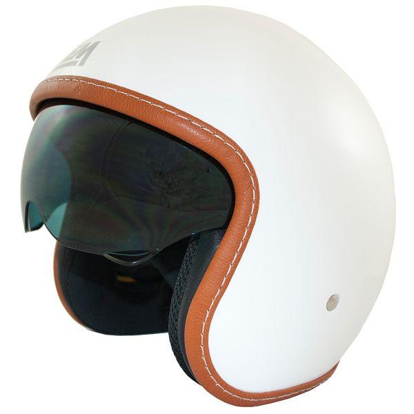 Casque Jet LEM Sport White