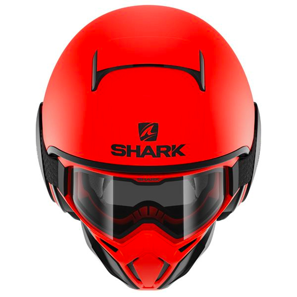 Shark Street Drak Neon Orange Noir Mat
