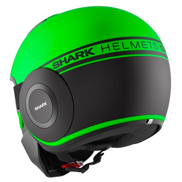 Shark Street Drak Neon Vert Noir Mat