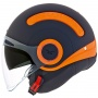Casque Jet Nexx SX.10 Switx Noir Mat Orange