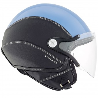 Casque Jet Nexx SX.60 Vintage 2 Blue Black