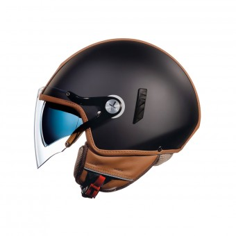 Casque Jet Nexx SX.60 Cruise 2 Black Camel Matt