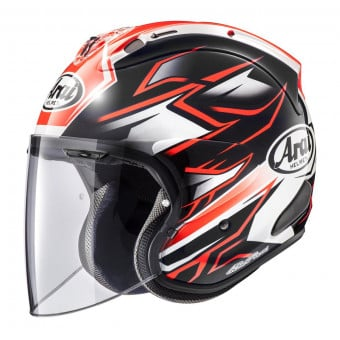 Casque Jet Arai SZ-R Vas Ghost Red